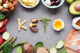 Keto diet features